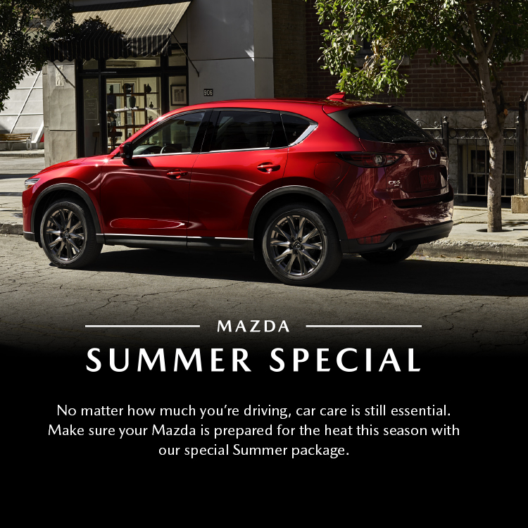 Mazda Special Summer Service
